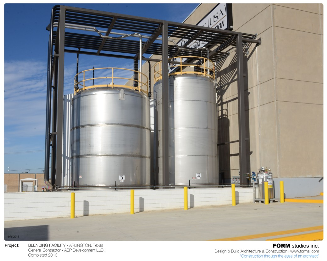 EXTERNAL CHEMICAL TANKS