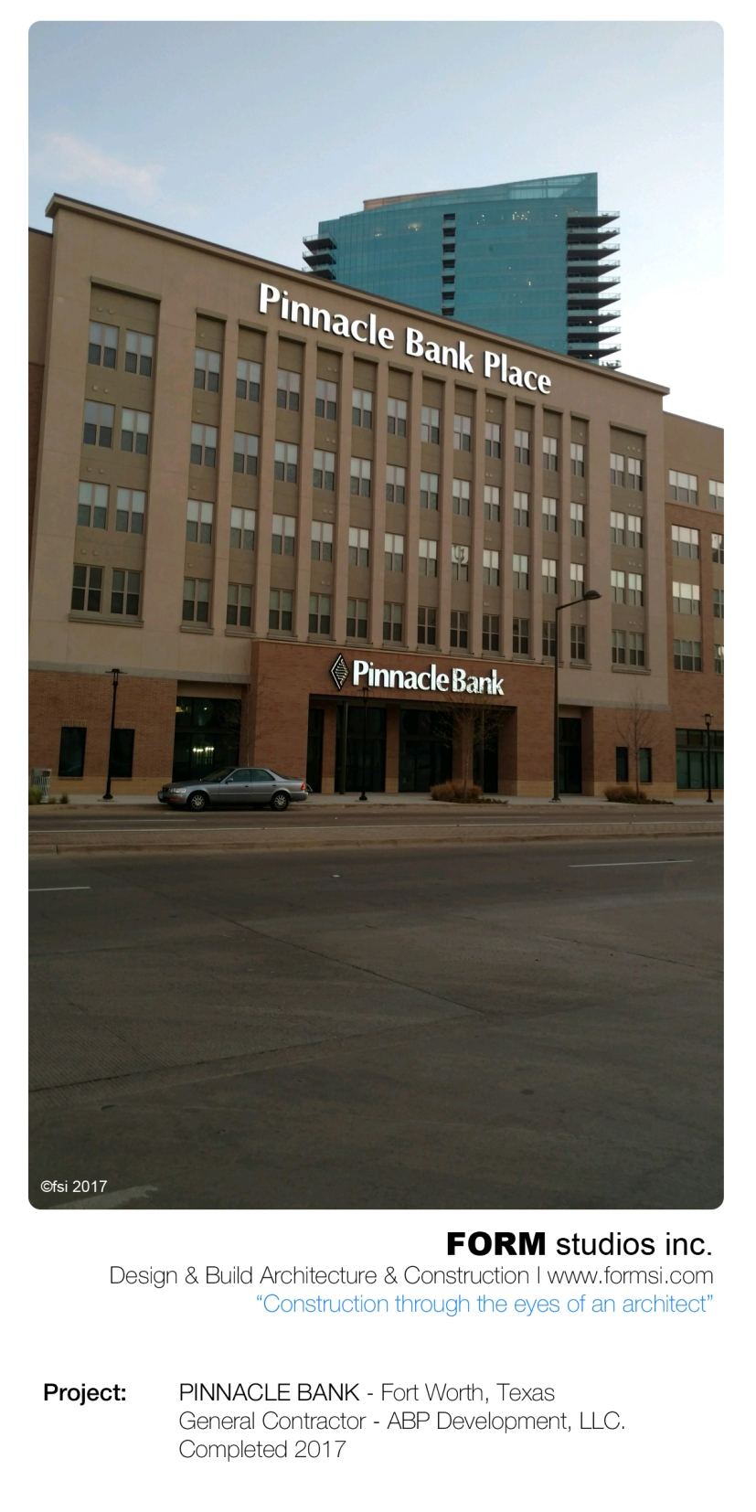PINNACLE BANK - FORT WORTH, TX