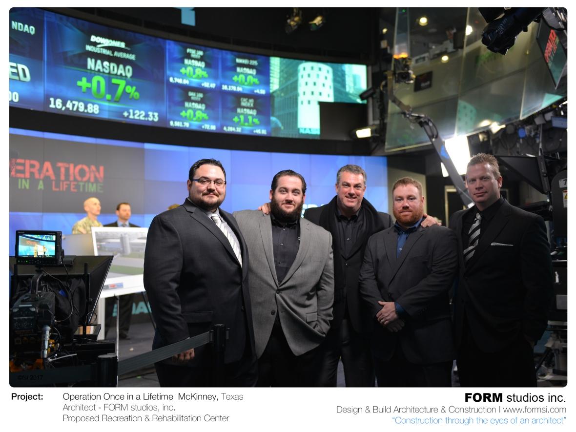FORM TEAM SIDE STAGE AT NASDAQ