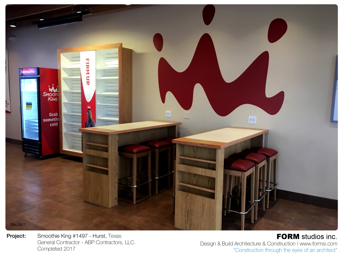 SMOOTHIE KING SEATING AREA